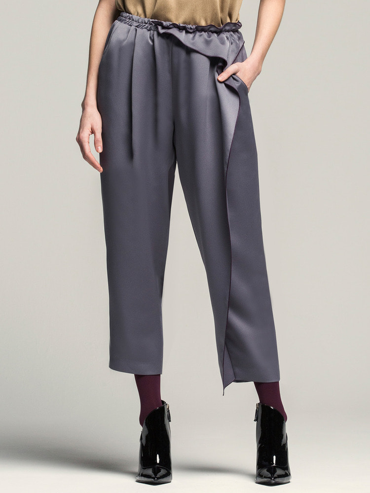 Ruffled Pants_gray